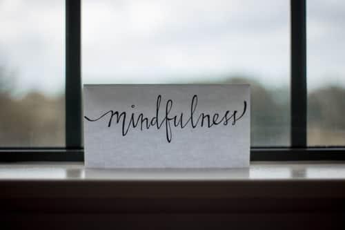 Illustration de la méditation pleine conscience