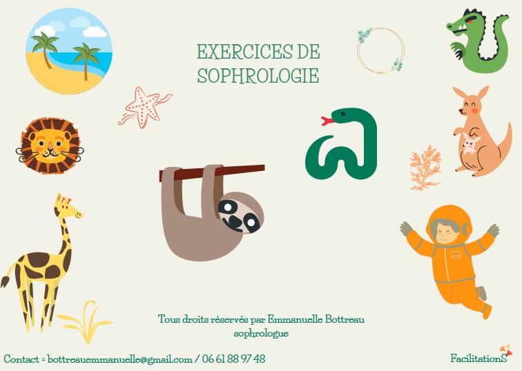 Exercices de sophrologie proposés par Emmanuelle Bottreau de FacilitationS.